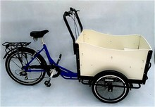 CE approved human power cargo tricycle made in China