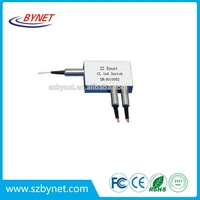 1x4 Crystalatch Switch, optical switch, fiber optic switch