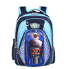 different models 3d school bags with flash led light