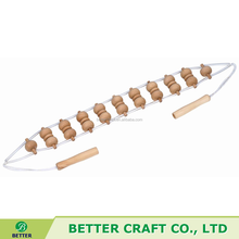 Personal Wooden Back Rolling Massager