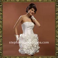 Guangzhou Newest Elegant Short 2011 New Model Wedding Dress --L4