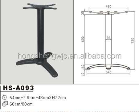 Especial moderno cruz de hierro forjado mesa de café comedor tabla ...