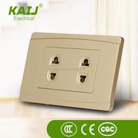 American style switch power socket