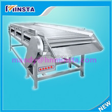 Tomatoes, carrots, apples, strawberries, and other fruits and vegetables roll bar sorting machine