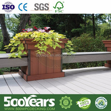 2015 beautiful hot selling and high quality with recycled new materials WPC Flower bed with new design