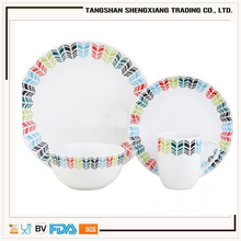 china supplier the newest production bone china dinner set