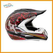 half face motorcycle safety helmet with goggles