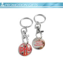 Design cheap custom metal token coin keychain