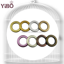 2015 Hot Sale YiBo 304 series Curtain Design with 34mm Inner Diameter Plastic Curtain Grommets