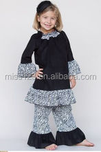 Unique spring persnickety super fashion wholesale toddler girls boutique clothing sets