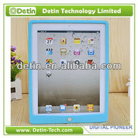 Wholesale for ipad silicone cover with home key buttom