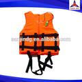 naranja la vida chaqueta chaleco salvavidas personalizada vida chaqueta y chaleco adultos para venta al por mayor flotabilidad