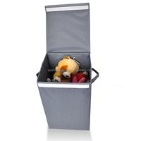 M Size Wholesale foldable fabric laundry hamper storage box