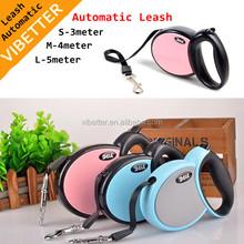 Hot sale automatic pet leash, cheap pet supplies, wholesale pet retractable dog leash