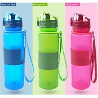 Best selling detox water bottle foldable bottle, athletic water bottle for sports