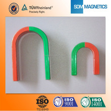 Cheap custom permanent special u shaped magnets for children