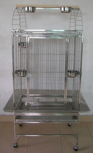 Large steel wire big parrot cage ,bird cage(manufacturer)