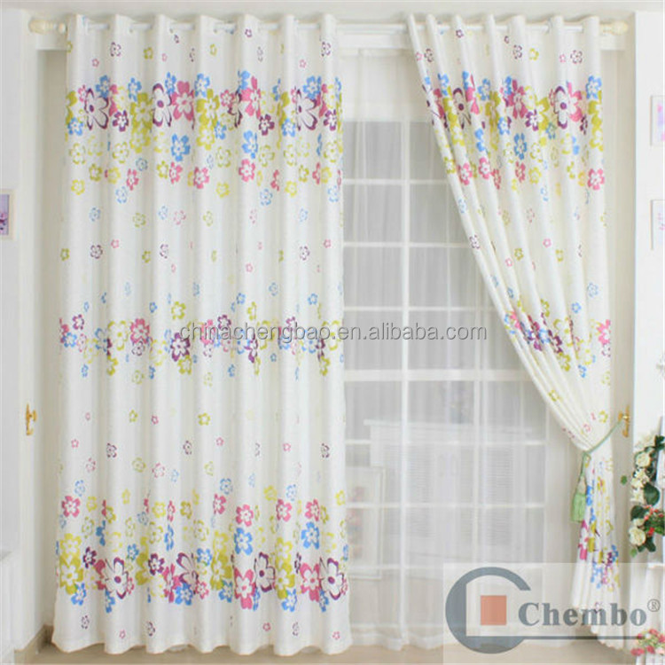 cartoon window curtain for kids room kids cartoon curtains