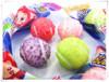6.5g Ali tennis shape fruit bubble gum