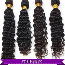 Hot sales Fashion 2015 guaranteed top quality 6A Factory Price Can Be Curled Chemical Free brazilian human hair extension afro k