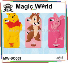 CARTOON SILICONE CASE FOR IPHONE 5S