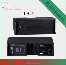 LA-1 spe audio dual 6.5 passive 2 way mini line array speaker
