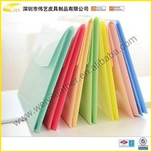 Wholesale Good Quality OEM Fashion Popular Colorful Charming Cute Durable Personal PP Material File Folder Folder A3 Clear File