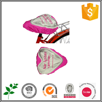 Cute and Fashion promotional outdoor advertising bicycle cover seat