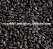 nero di semi di sesamo alla rinfusa