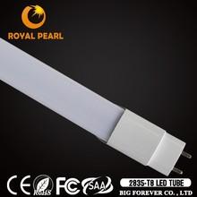 Rotatable Double ends input AC120V AC230V 1200mm t8 18w led read tube