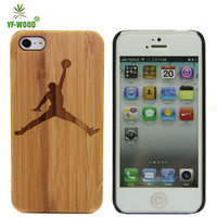 China wholesale bulk buy mobile cases for iphone 5 5s wooden back covers