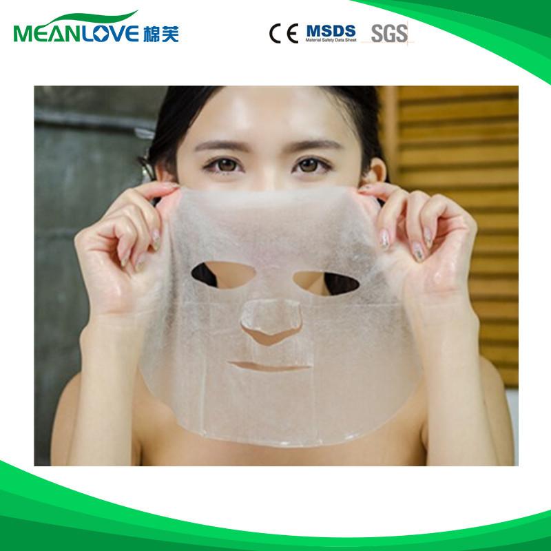 100% proteína de seda máscara de cuidados da pele endurecimento clareamento hidratante máscara facial
