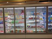 Exported reach in freezer glass door for commercial purpose