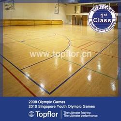 6mm-8mm Indoor Basketball Flooring for Basketball Court