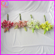 wholesale natural touch lily flowers artificial wedding flowers