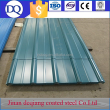 Color galvanized plastic sheet galvanized corrugated steel sheet for roofing wall panel