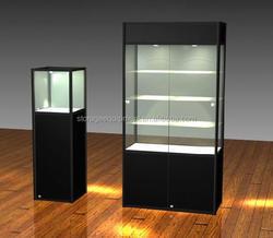 corner glasses display case for promotion gift