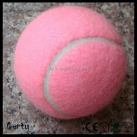 High quality Promotional Standard Pink tennis ball