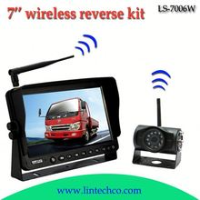 China night vision wireless taxi bus truck car security camera dvr system LS-7006W