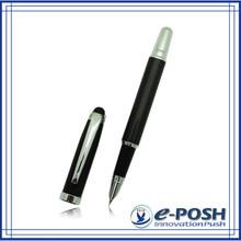 Racing car advertising oem metal ink cartridge carbon fiber fountain pen