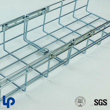 Powder coating wire mesh electrical cable tray for building office