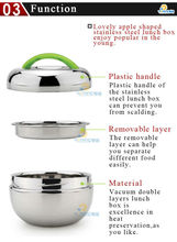 metal food warmer box/take away food box/800ml food box