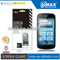 Mobile phone screen protective film for Acer liquid e2 oem/odm (High Clear)