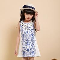 flower latest girls dress designs for 9years children wholesale