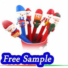 Free Sample, 4 Colors Plastic Ball Pen, 14.3 Cm Length 1.0 Cm Width 0.7 mm Line Width Ball Pen