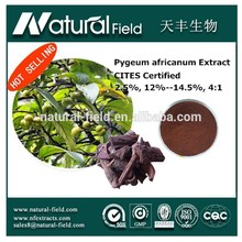 Pursue customer s 100% satisifaction plant extract phytosterols 3.0% pygeum africanum extract