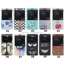 Top seller on alibaba 2015 for for lenovo a536 flip case cover with view window