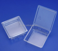Custom wholesale small products cheap plastic clamshell packaging
