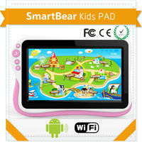 Hottest selling multi languages 7inch high quality kids tablet smart bear tablet supplier