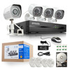 Zmodo home automation 4ch HD all-in-one NVR kits with720P outdoor IP camera